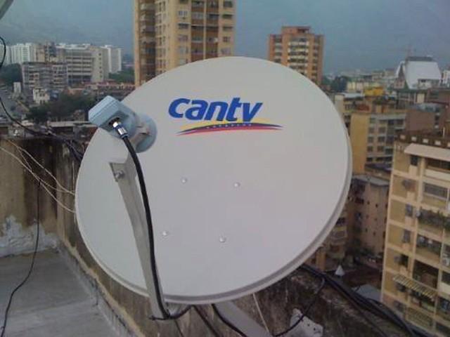 cantv satelital antena