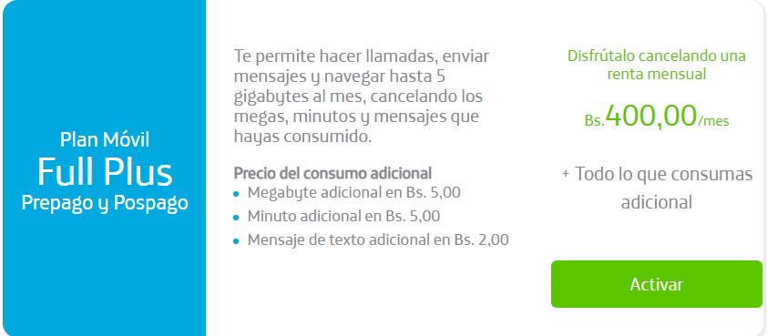 Plan Basico Movistar