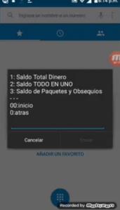 Consulta Saldo Movistar Colombia *611# Paso 4