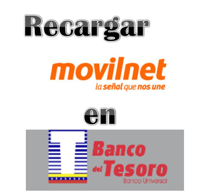 Recargar Movilnet en el Banco del Tesoro