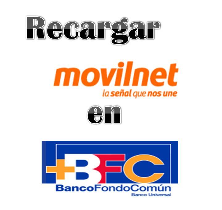 Recargar Movilnet en el BFC