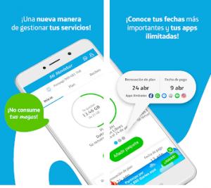 Consulta Saldo en La App Movistar Peru
