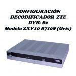 Configuracion decodificador zte gris