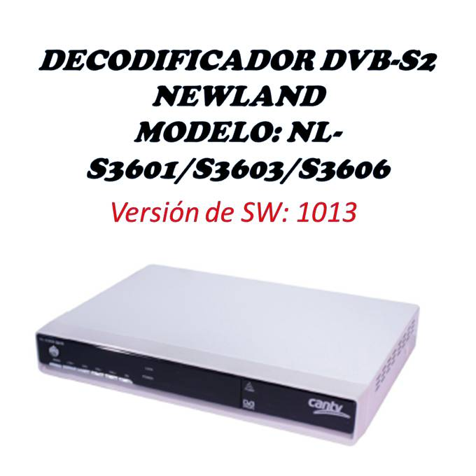 DECODIFICADOR NEWLAND S3601 BLANCO