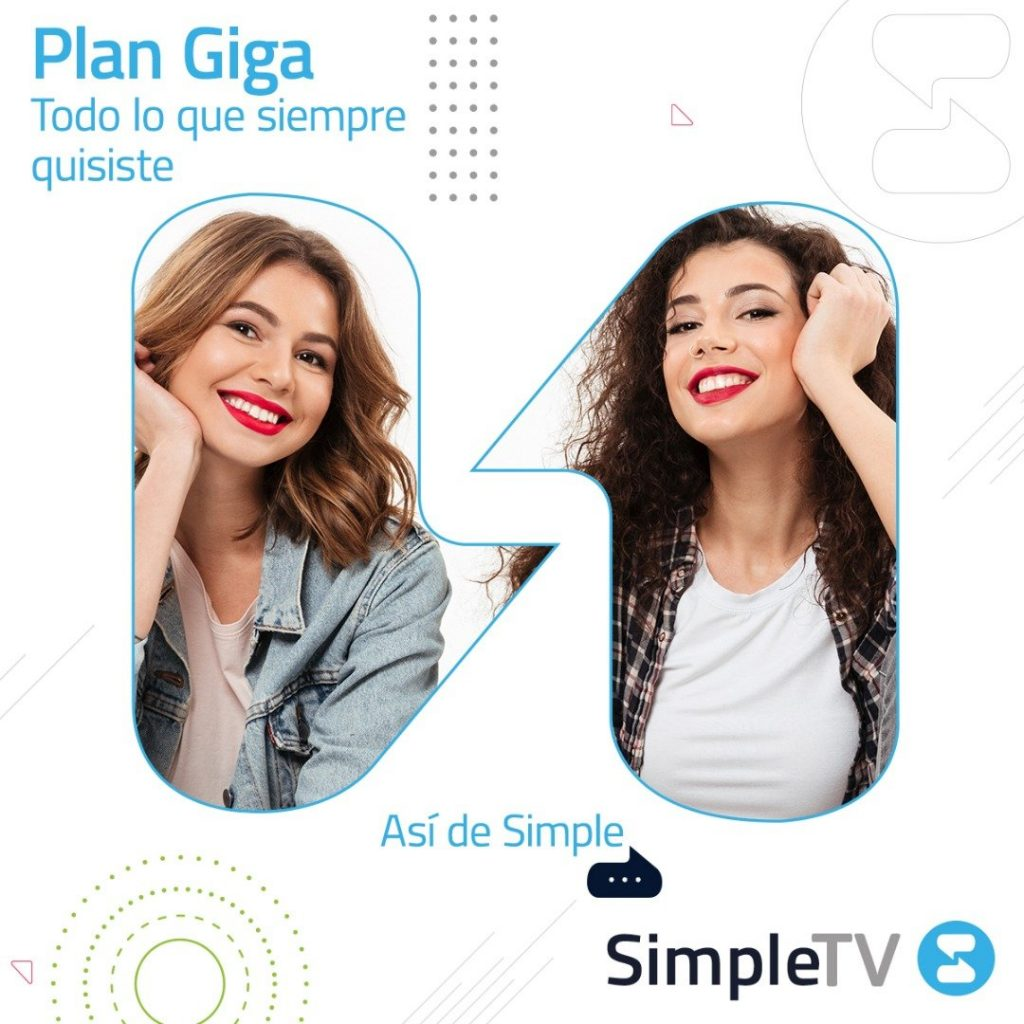Simple TV Plan GIGA