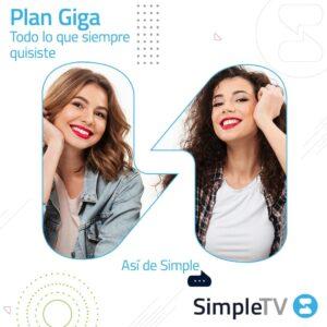 Simple TV Plan GIGA