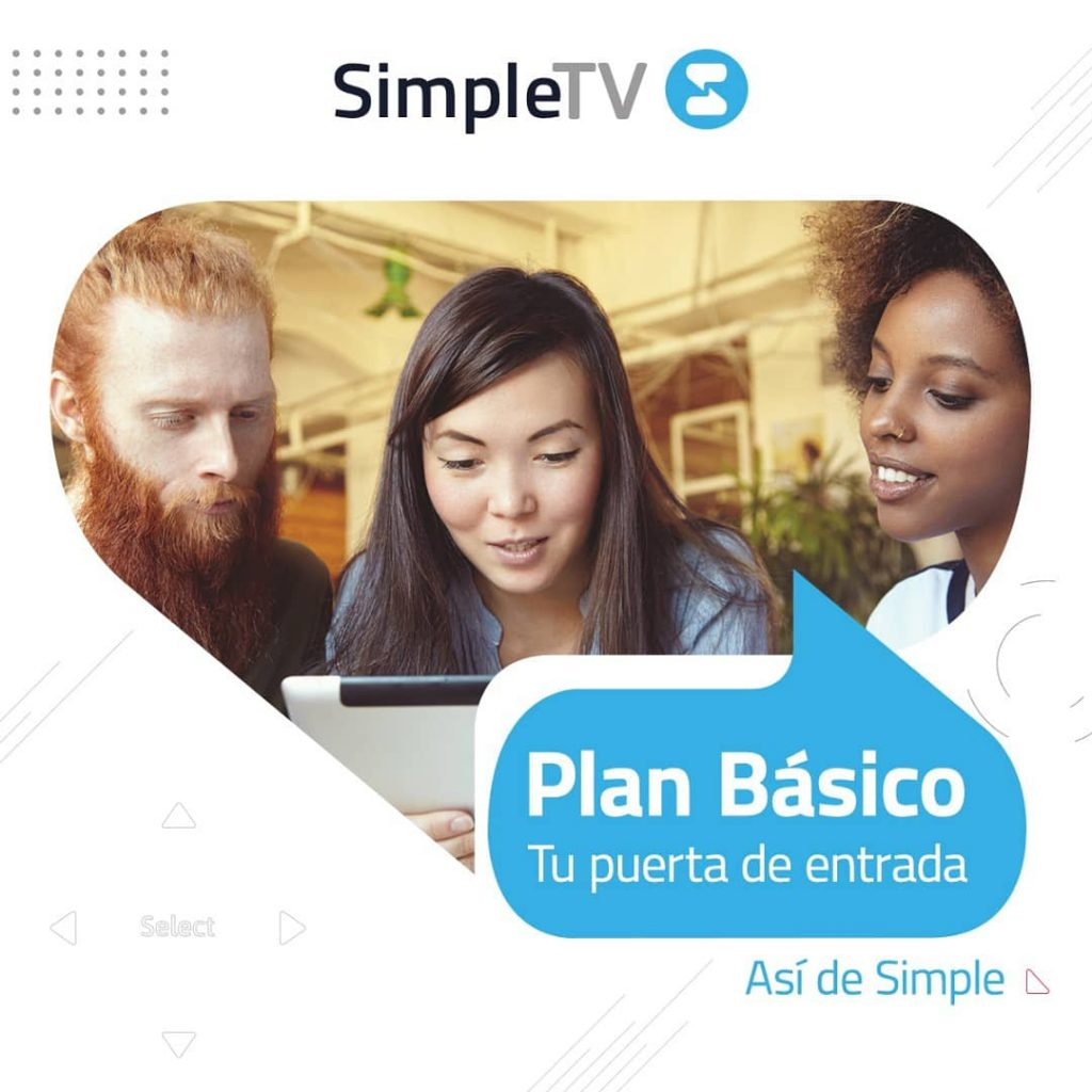Simple TV Plan Basico