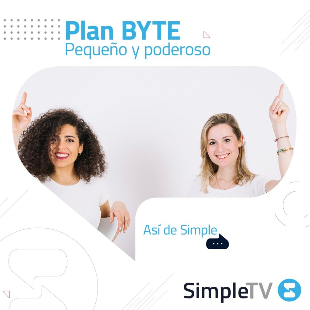 Simple TV Plan BYTE