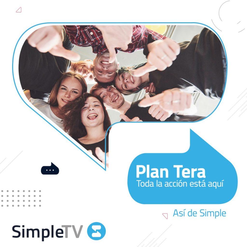 Simple TV Plan TERA