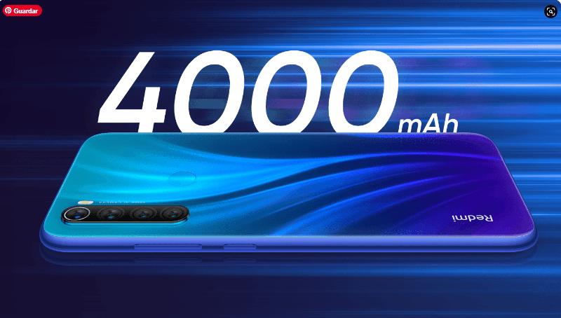 Bateria4000 mAh Redmi Note 8